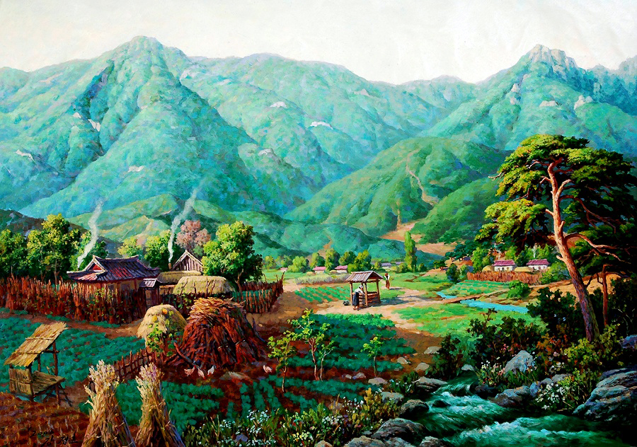 прикладное искусство КНДР