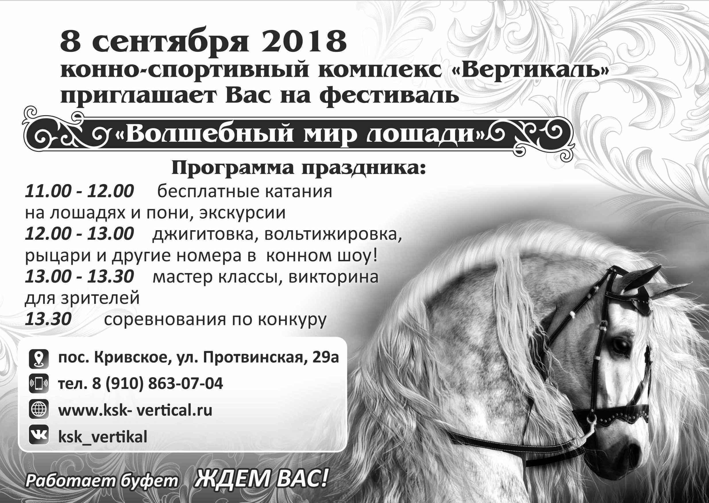 Фестиваль «Волшебный мир лошади»