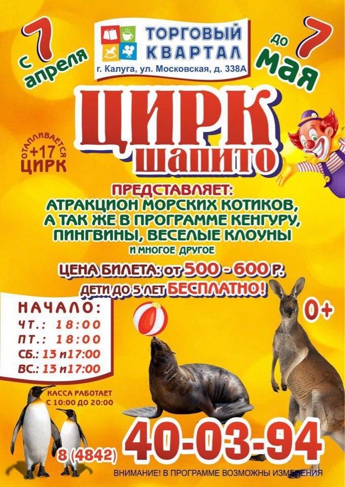 «Цирк-Шапито» в Калуге