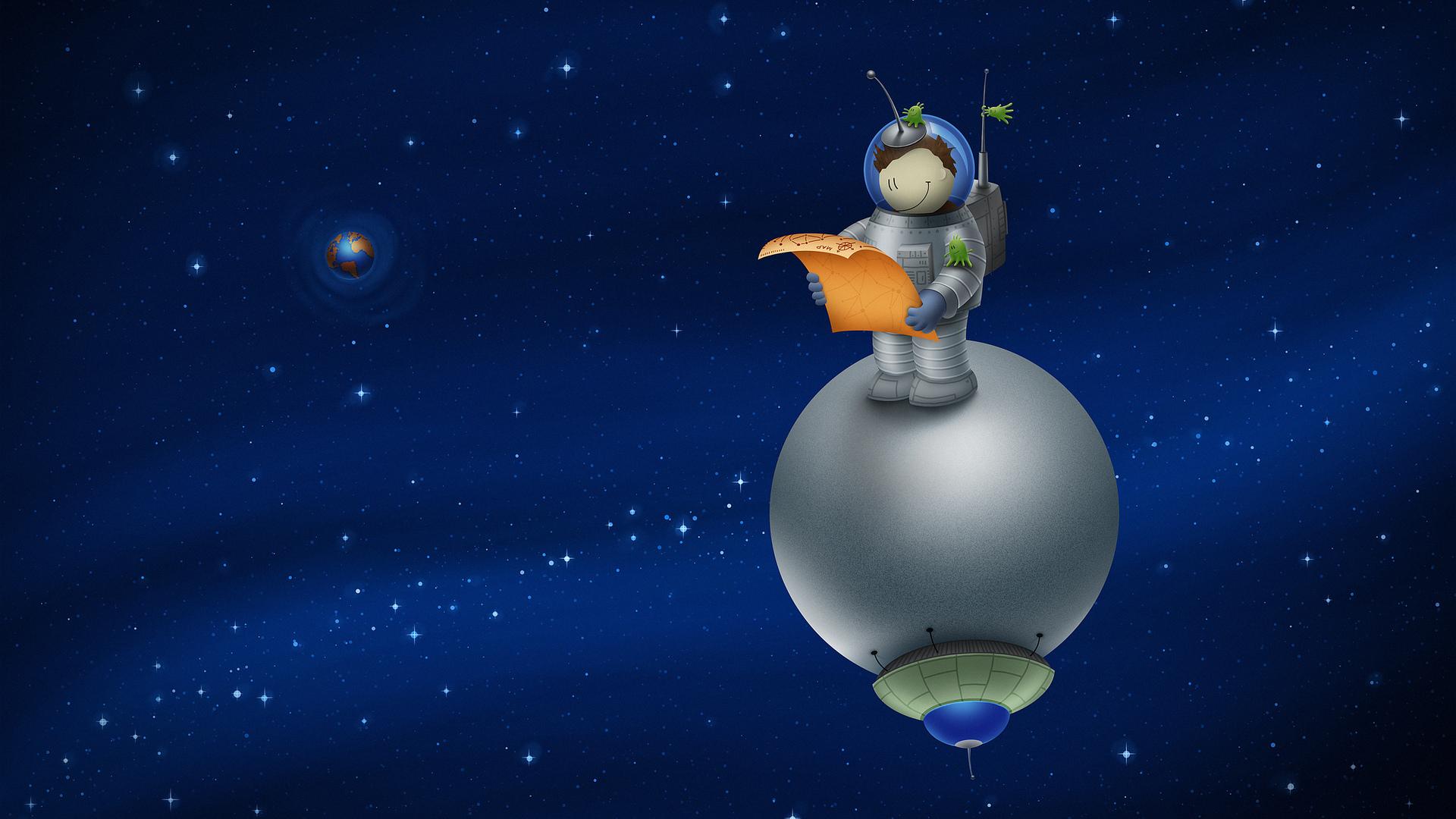 Космическая программа для детей