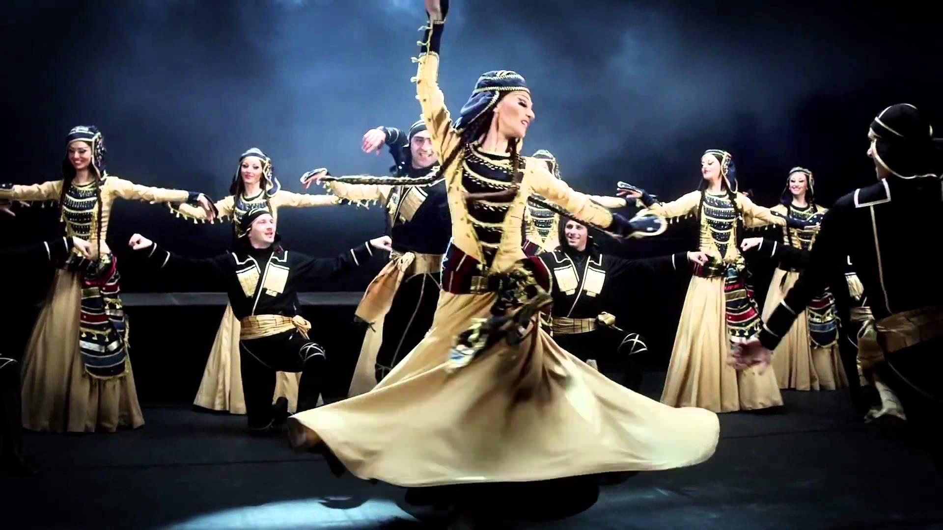 Открытый урок по Грузинским танцам