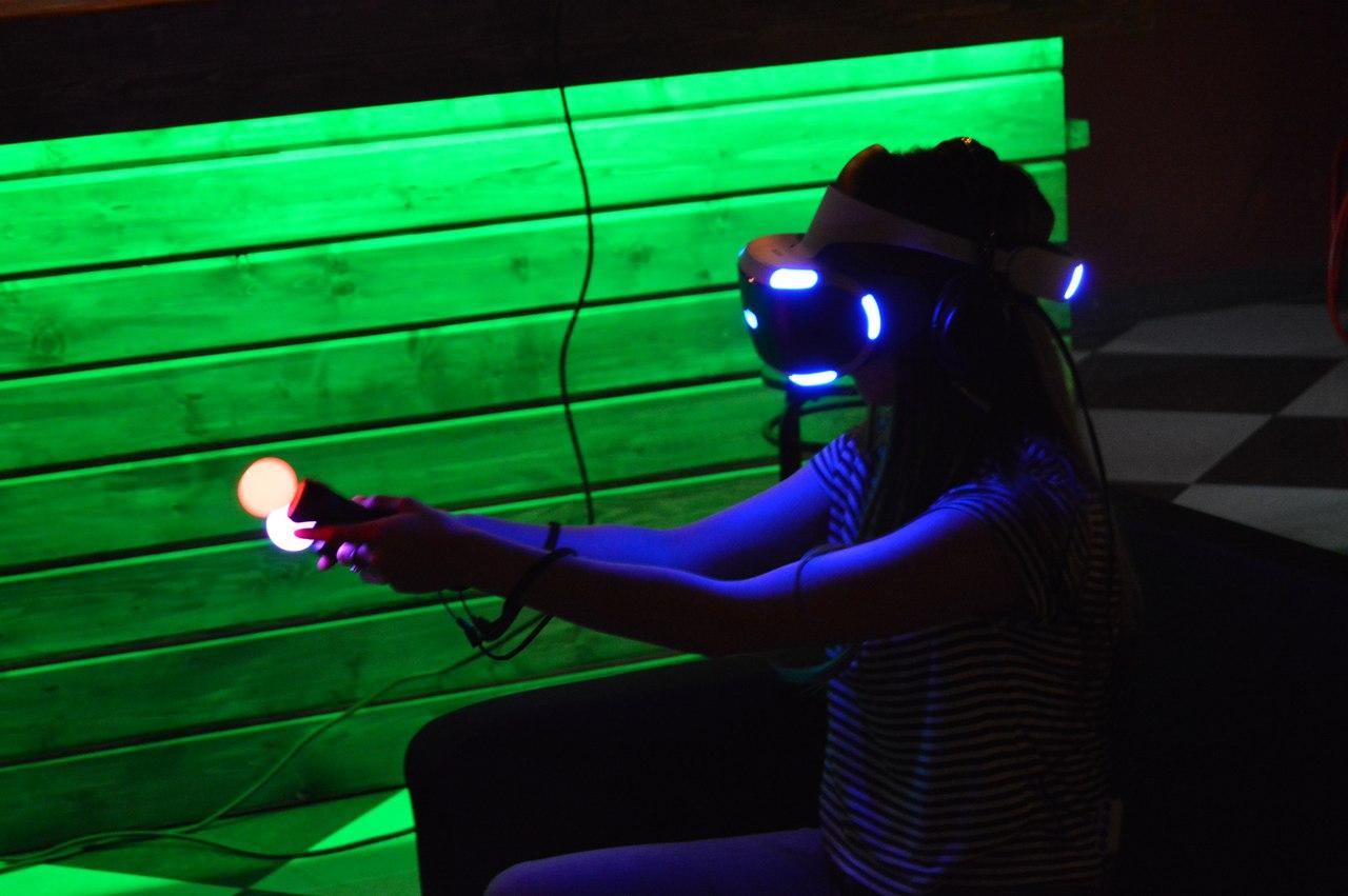 VR тест-драйв