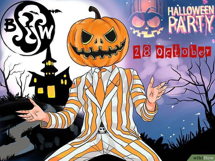 Halloween party в кальянной