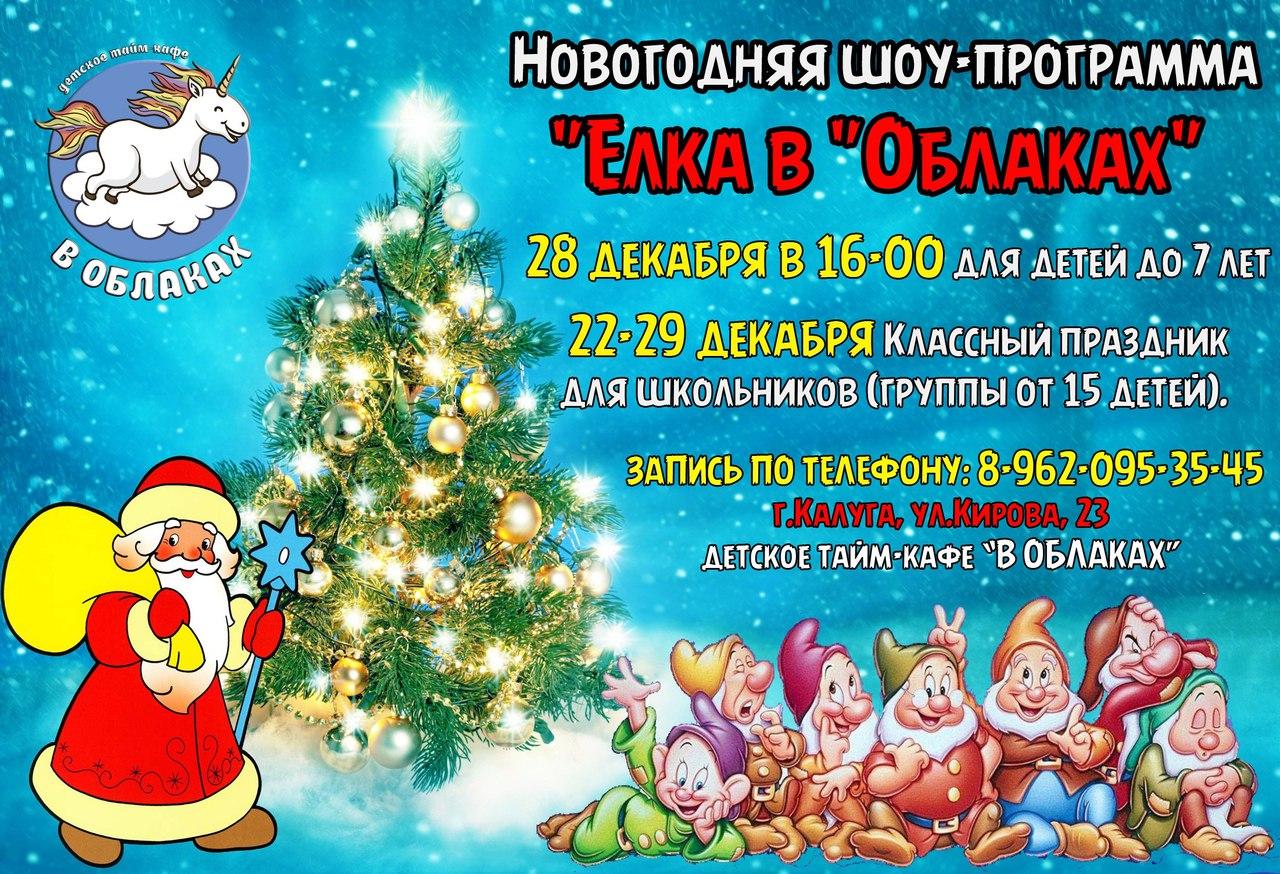 "Новогодняя программа ""Ёлка в облаках"""