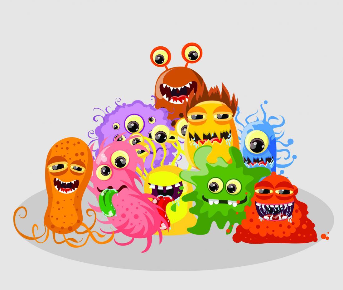 Картинки смешных вирусов