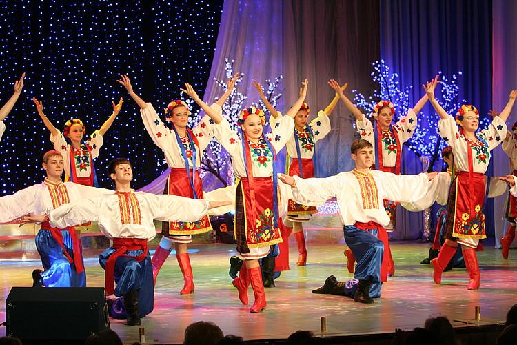 Задорный русский танец
