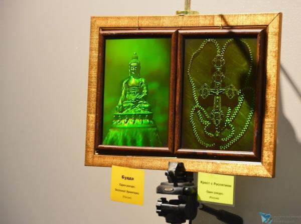 Голографическая выставка живых картин