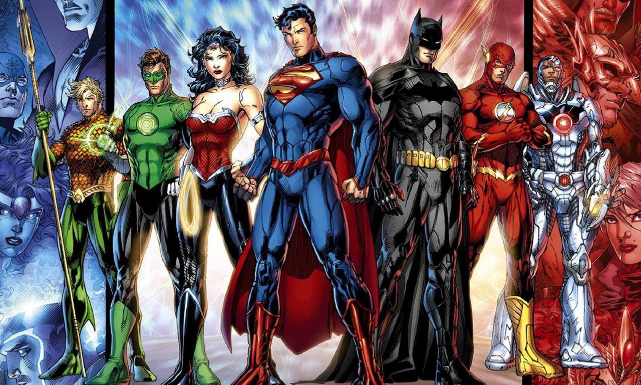 Встреча клуба любителей комиксов