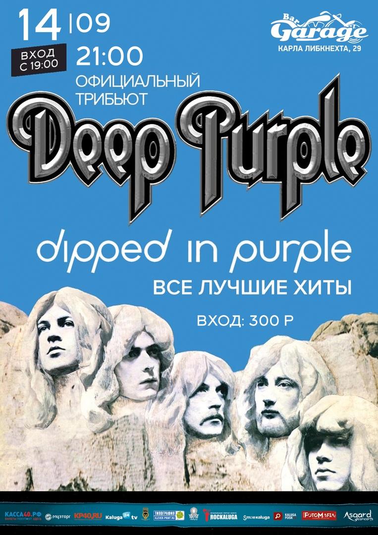 Tribute Deep Purple. Бар Garage